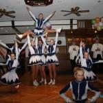Tanz der Seniorengarde der Recker Funken