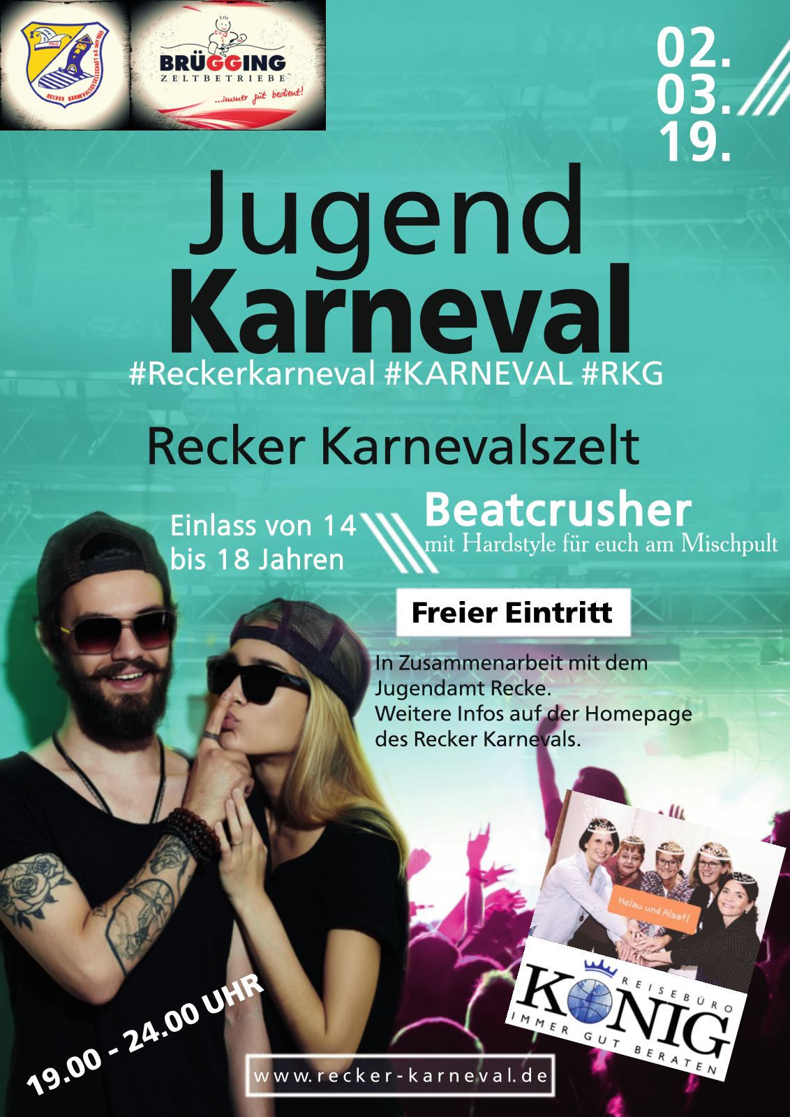 Jugendkarneval 2019