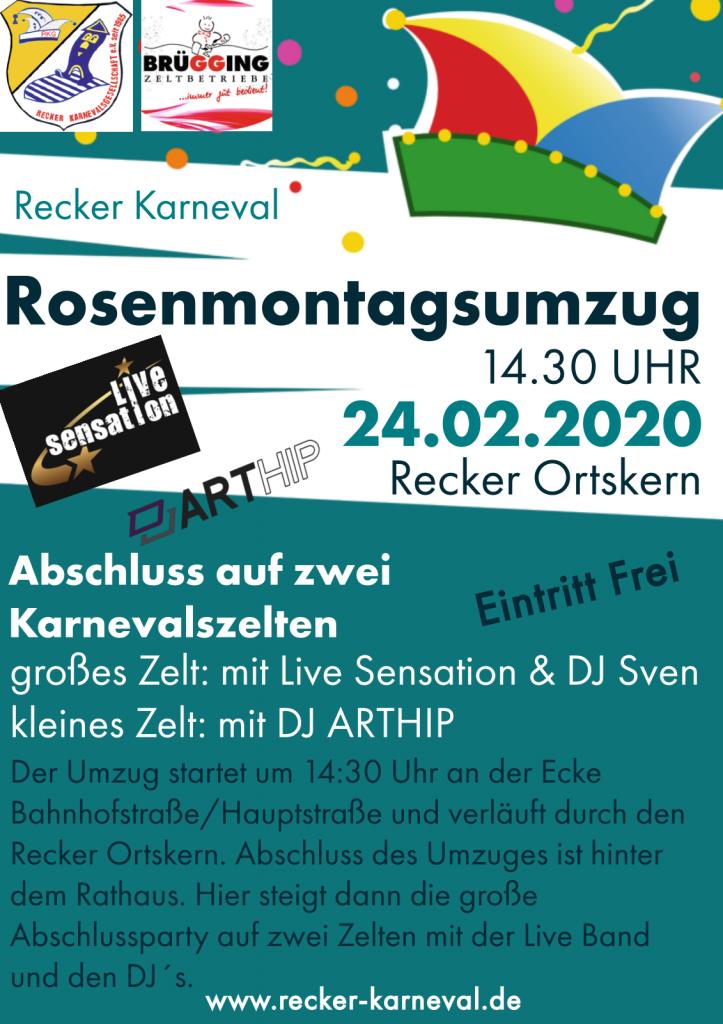 Rosenmontag 2020